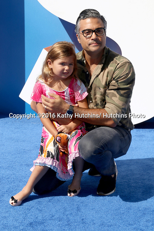 """LOS ANGELES - SEP 17:  Elena Camil, Jaime Camil at the """"Storks"""" Premiere at the Village Theater on September 17, 2016 in Westwood, CA"""