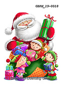 Roger, CHRISTMAS SANTA, SNOWMAN, WEIHNACHTSMÄNNER, SCHNEEMÄNNER, PAPÁ NOEL, MUÑECOS DE NIEVE, paintings+++++,GBRM19-0018,#x#