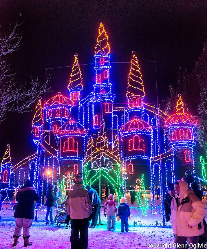Thousands of people of all ages took part in the official opening of the 30th annual Celebration of Lights. Held at Centennial Park