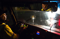 Johnny Crudup (CQ), a full-time substitute bus driver for Wake County drives students to schools in Raleigh and Garner, NC on Friday, March 31, 2017. (Justin Cook for The Wall Street Journal)<br /> <br /> BUSES Summary<br /> A shortage of school bus drivers is forcing one of North Carolina&rsquo;s largest school districts to consider starting class as early as 7:10 a.m. and as late as 9:15 a.m. this fall, to give the limited number of drivers time to do three or more runs each morning.