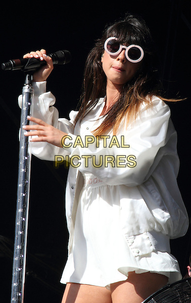 BIRMINGHAM, UNITED KINGDOM - AUGUST 31: Foxes performs during day 2 of Fusion Festival 2014 on August 31, 2014 in Birmingham, England.<br /> CAP/ROS<br /> &copy;Steve Ross/Capital Pictures