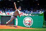 29 August 2010: St. Louis Cardinals pitcher  Adam Wainwright on the mound against the Washington Nationals at Nationals Park in Washington, DC. The Nationals defeated the Cards 4-2 to take the final game of their 4-game series. Mandatory Credit: Ed Wolfstein Photo