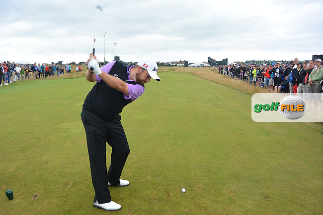 Shane LOWRY (IRL) during a practice round ahead of The 143th Open championship Royal Liverpool Golf club, Hoylake, England.<br /> Picture: Fran Caffrey www.golffile.ie