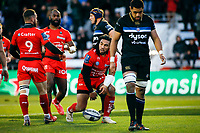 Ma'a Nonu of Toulon scores a try during the European Champions Cup match between RC Toulon and Bath on December 9, 2017 in Toulon, France. (Photo by Guillaume Ruoppolo/Icon Sport)