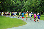 7-6-2015: Participants pictured running in the first Killarney parkrun in Muckross, Killarney on Saturday.  The free weekly recreational runs which will now take place every Saturday morning throughout the year at 9.30am have been sweeping Ireland and Killarney is the 30th location in the country. Alan Ryan, Event Director said that &ldquo;All parkruns start at 9:30am in every location and are targeted at recreational runners.  In fact you can walk, jog, run, walk the dog or push a buggy.  It&rsquo;s what you make of it that counts and it&rsquo;s all very welcoming and friendly.  Killarney parkrun&rsquo;s starting point is within Muckross House Car Park, opposite the Muckross Traditional Farms.&rdquo; More information on www.parkrun.ie<br /> Picture by Don MacMonagle<br /> <br /> Repro free photo from Kerry County Council<br /> <br /> Further inforamtion from Cora Carrigg, Co-ordinator Kerry Recreation and Sports Partnership<br /> Email: cora.carrigg@kerrycoco.ie <br /> Phone: 066-7184776