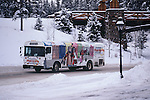 SKI BUS IN BRECKENRIDGE COLORADO