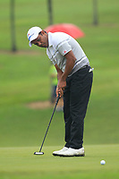 SSP Chawrasia (Asia) on the 2nd green during the Saturday Foursomes of the Eurasia Cup at Glenmarie Golf and Country Club on the 13th January 2018.<br /> Picture:  Thos Caffrey / www.golffile.ie