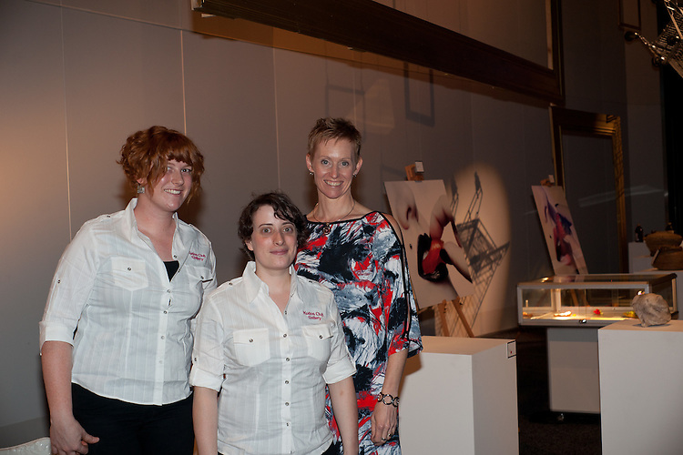 Staff: Madeline, Kate & Donna . 2011 South Australian Premiers Food Awards. At the Convention Centre.