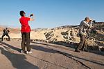 Zabriski Point--tourists and photographers