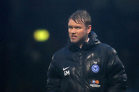 Peterborough United Manager, Grant McCann, heads to the dressing room at the final whistle during Gillingham vs Peterborough United, Sky Bet EFL League 1 Football at the MEMS Priestfield Stadium on 10th February 2018