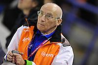 SCHAATSEN: Calgary: Essent ISU World Sprint Speedskating Championships, 28-01-2012, Floor van Leeuwen, Team LIGA, ©foto Martin de Jong
