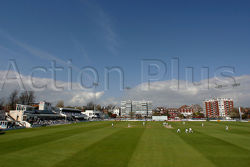 22 April 2004: General view of Sussex County Cricket  Club's ground at Hove, Sussex v Lancashire, Frizzell County Championship Cricket at Hove. Photo: Glyn Kirk/Action Plus...venue.040422