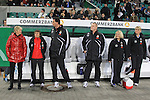 28.10.2010, Volkswagen Arena, Eolfsburg, GER, FSP, Deutschland (GER) vg Ausralien (AU), im Bild.DFB Frauen Trainerbank mit Trainerin Sylvia Neid li..Foto © nph / Rust