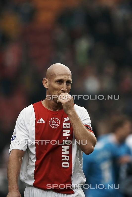 Nederland, Amsterdam, 12 november 2006.Eredivisie.Seizoen 2006 - 2007.Ajax - PSV (0-1).Jaap Stam van Ajax na afloop