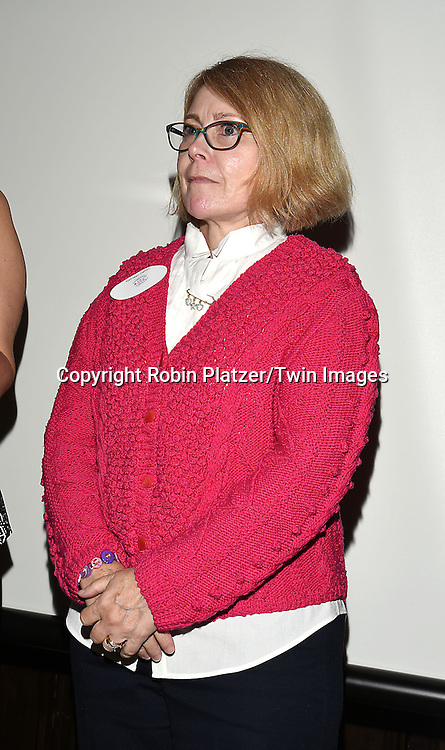 Kathleen Dalton, Contestant in the competion attend the Big Apple Knitters Guild 25th Annual Luncheon Gala on September 24, 2016 at Kellari Taverna in New York City, New York, USA. <br /> <br /> photo by Robin Platzer/Twin Images<br />  <br /> phone number 212-935-0770