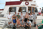 11th Annual SoapFest - Actors take a break on the Ramblin' Rose with Ken as the captain on May 2, 2009 on Marco Island, FLA. (Photo by Sue Coflin/Max Photos)