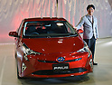 Toyota unveils new Prius model for 2016