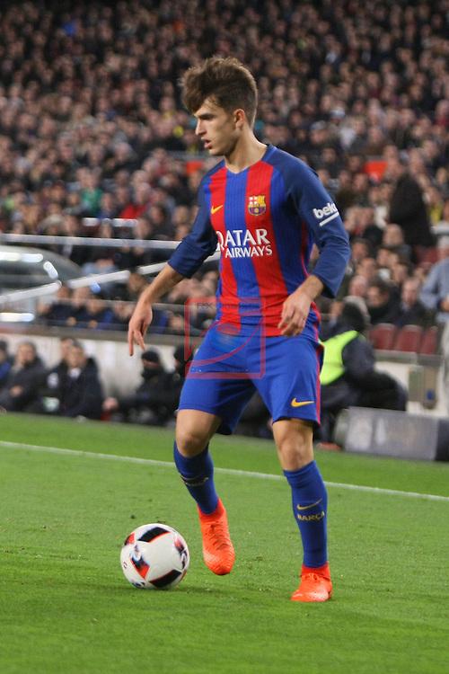 Copa del Rey 2016/2017 - Semifinal vuelta.<br /> FC Barcelona vs Atletico Madrid: 1-1.<br /> Denis Suarez.