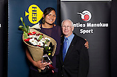 Heb Construction Sporting Excellence Award winner Valerie Adams. Counties Manukau Sport Sporting Excellence Awards held at Testra Clear Pacific Events Centre, Manukau, on Thursday 9th December 2010.