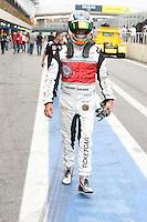 SAO PAULO, SP, 07 DE JULHO 2012 - FORMULA TRUCK - ETAPA SAO PAULO - Imagem dos treinos livres na manhã deste sábado para a quinta etapa da Fórmula Truck, realizada no Autódromo de Interlagos, em São Paulo. O treino classificatório ocorre na tarde de hoje e a corrida será realizada amanhã. (FOTO: LUIZ GUARNIEIRI / BRAZIL PHOTO PRESS).