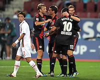 Fussball Bundesliga 2011/12: FC Augsburg - Bayer 04 Leverkusen