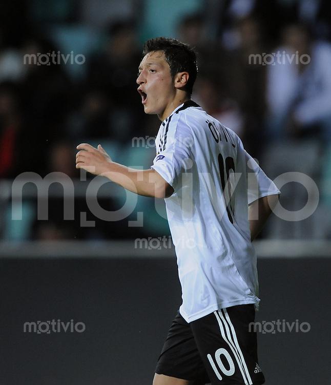 Fussball  International U 21 Europameisterschaft 2009 Spanien - Deutschland Enttaeuschung GER, Mesut Oezil