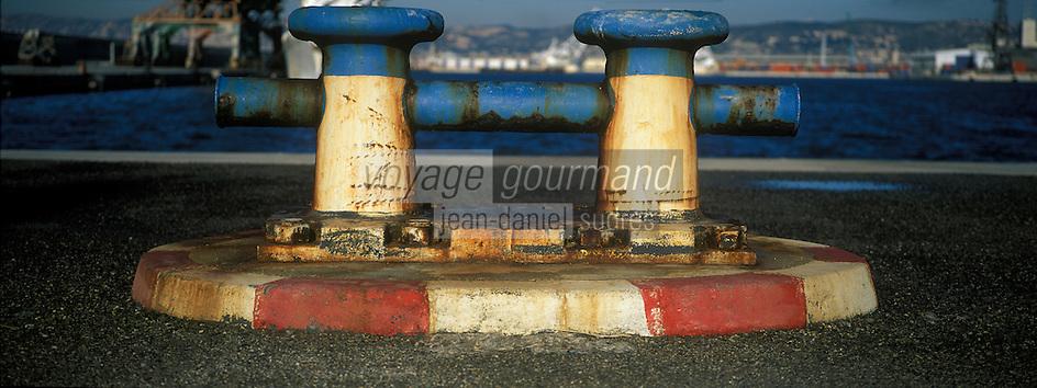 Europe/France/Provence-Alpes-Côte d'Azur/13/Bouches-du-Rhône/Marseille : Le port de commerce