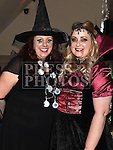 Yvette McLeer and Karen Clinton at the Halloween Ball in the Thatch in aid of Motor Neurone Disease Oncology Dept of Our Lady of Lourdes hospital. Photo:Colin Bell/pressphotos.ie