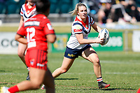 Central Coast Roosters play North Sydney Bears in Round 7 of the Harvey Norman NSW Women's competition at Morry Breen Oval on 29th of August, 2020 in Kanwal, NSW Australia. (Photo by James Quigley/LookPro)