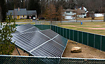 WATERTOWN,  CT-011820JS17- The newly installed solar array at Judson Elementary School in Watertown. <br /> Jim Shannon Republican-American