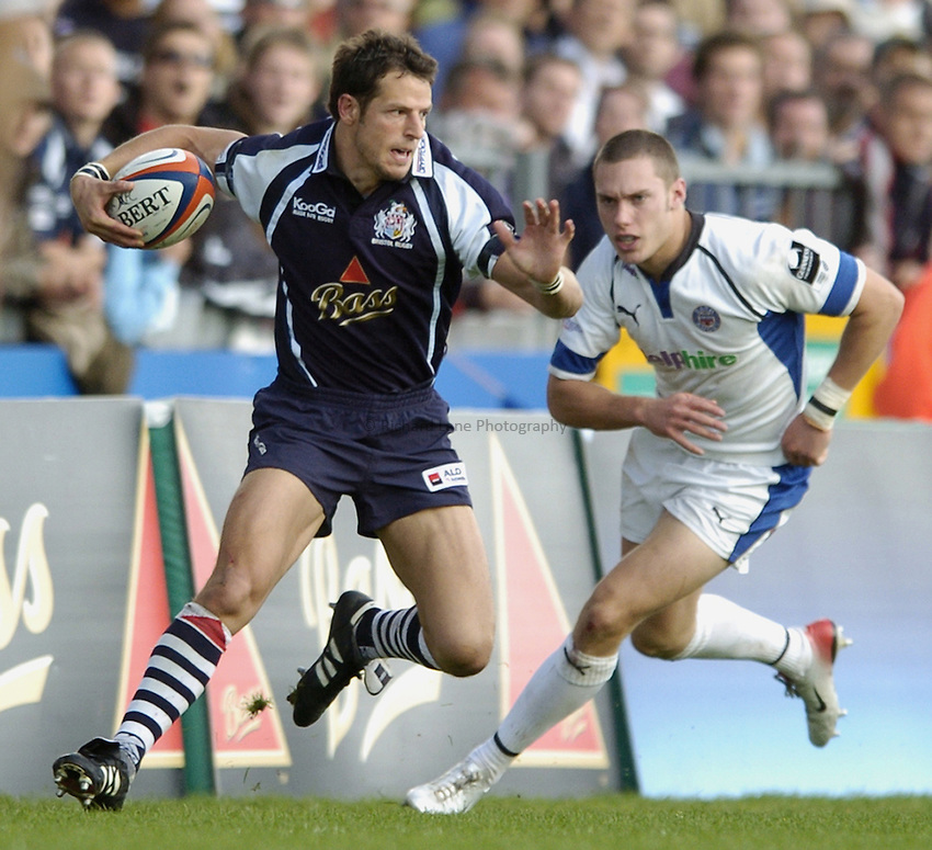 Photo: Jonathan Butler..Bristol Rugby v Bath Rugby. EDF Anglo-Welsh Cup. 01/10/2006..Marko Stanojevic of Bristol.