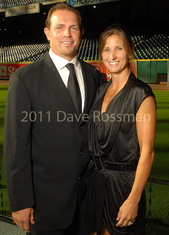 Brian Moehler and his wife Deana at the Astros Wives Gala at Minute Maid Park Thursday Aug. 06, 2009.(Dave Rossman/For the Chronicle)
