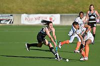 International women's hockey test match between New Zealand Black Sticks and India at National Hockey Stadium, Wellington, New Zealand on Saturday, 15 December 2012<br /> Photo by Masanori Udagawa<br /> www.photowellington.com