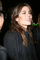 CHARLOTTE CASIRAGHI - ASSISTE AU DEFILE DE LA COLLECTION PRET A PORTER PRINTEMPS/ETE 2018 'YVES SAINT LAURENT' PENDANT LA FASHION WEEK A PARIS, FRANCE, LE 26/09/2017.