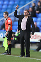 Stevenage manager Graham Westley.Reading v Stevenage - FA Cup 3rd Round - Madejski Stadium,.Reading - 7th January, 2012.© Kevin Coleman 2012