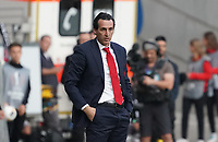 Trainer Unai Emery (Arsenal London) - 19.09.2019:  Eintracht Frankfurt vs. Arsenal London, UEFA Europa League, Gruppenphase, Commerzbank Arena<br /> DISCLAIMER: DFL regulations prohibit any use of photographs as image sequences and/or quasi-video.