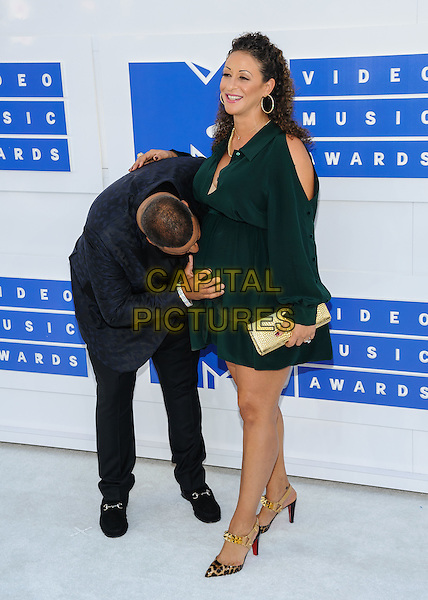 28 August 2016 - New York, New York - DJ Khaled, Nicole Tuck.  2016 MTV Video Music Awards at Madison Square Garden. <br /> CAP/ADM/MSA<br /> &copy;MSA/ADM/Capital Pictures
