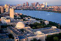 MIT campus and Boston skyline Boston MA