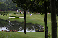 View of the 16th during the Final Round of the 2014 Maybank Malaysian Open at the Kuala Lumpur Golf & Country Club, Kuala Lumpur, Malaysia. Picture:  David Lloyd / www.golffile.ie