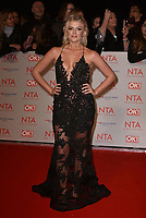 Lucy Fallon attending the National Television Awards 2018 at The O2 Arena on January 23, 2018 in London, England. <br /> CAP/Phil Loftus<br /> &copy;Phil Loftus/Capital Pictures