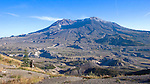 Landscape of Mount St. Helens Volcano, Washington State