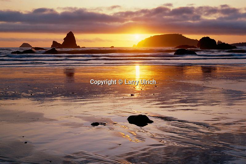 Trinidad Head<br />  from Houda Point Beach<br /> Trinidad<br /> Humboldt County,  California