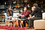 "Candela Peña, Andrew Tarbet, Pilar Castro and Xavi Mira during theater play of ""Los vecinos de arriba"" at Teatro La Latina in Madrid. April 05, 2016. (ALTERPHOTOS/Borja B.Hojas)"