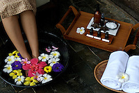 Spa setting in Palau Micronesia