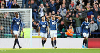 Blackburn Rovers' Derrick Williams is dejected after Preston North End's Tom Barkhuizen scored his side's third goal <br /> <br /> Photographer Rich Linley/CameraSport<br /> <br /> The EFL Sky Bet Championship - Preston North End v Blackburn Rovers - Saturday 26th October 2019 - Deepdale Stadium - Preston<br /> <br /> World Copyright © 2019 CameraSport. All rights reserved. 43 Linden Ave. Countesthorpe. Leicester. England. LE8 5PG - Tel: +44 (0) 116 277 4147 - admin@camerasport.com - www.camerasport.com