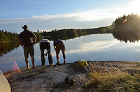 Killarney canoe trip with Dan Pieter, Naz, and Hendrick