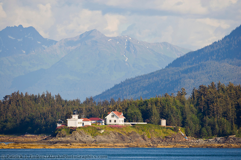 Point Retreat Lighthouse, located on the northern tip of Admiralty Island, twenty-one miles northwest of Juneau, is currently under restoration by the Alaska Lighthouse Association.