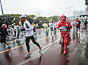 Feb. 28, 2010 - Tokyo, Japan - A man dressed in a colorful ninja costume takes part in the 2010 Tokyo Marathon. More than 30,000 athletes participated in the event.