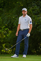 Corey Conners (CAN) looks over his tee shot on 6 during round 2 of the 2019 Charles Schwab Challenge, Colonial Country Club, Ft. Worth, Texas,  USA. 5/24/2019.<br /> Picture: Golffile   Ken Murray<br /> <br /> All photo usage must carry mandatory copyright credit (© Golffile   Ken Murray)