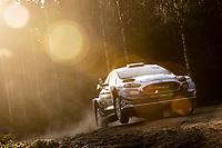 13th February 2020, Torsby base and Karlstad, Värmland County, Sweden; WRC Rally of Sweden, Shakedown event;  Esapekka Lappi (FIN) - Janne Ferm (FIN) - Ford Fiesta WRC